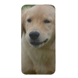 Golden retriever bolsillo para iPhone
