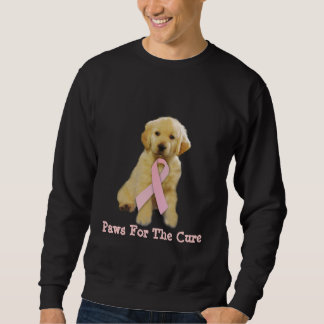 Golden Retriever Breast Cancer Unisex Sweatshirt