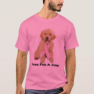 Golden Retriever Breast Cancer Unisex T-Shirt