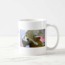 Golden Retriever Brother and Sister Love Coffee Mug