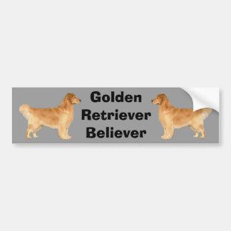 Golden Retriever Bumper Sticker Danny Boy