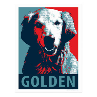 Golden Retriever by Hope Dogs Postcard