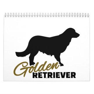 Golden Retriever Wall Calendars