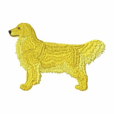 Golden retriever camiseta polo