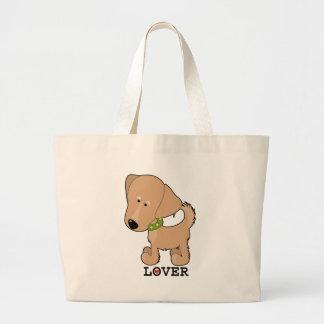 Golden Retriever Canvas Bags