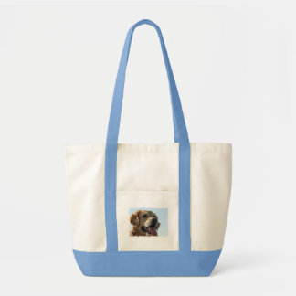 Golden Retriever Canvas Tote Bag