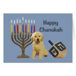 Golden Retriever  Chanukah Card Menorah Dreidel5<br><div class='desc'>Remembering family and friends during the Chanukah season is a wonderful way to keep in touch with the people you love and care about. I created these dog Chanukah cards with love and care and I am sure anyone who loves dogs will be delighted to receive them. You do have...</div>