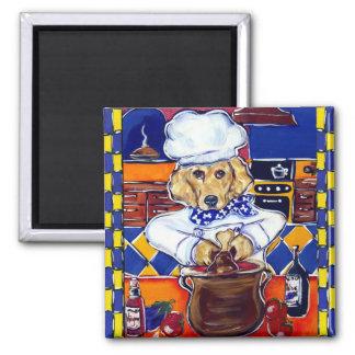 Golden Retriever Chef Magnet