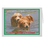Golden Retriever Christmas Card 2014