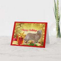 Golden Retriever Christmas Card Gift
