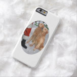Golden Retriever Christmas Barely There iPhone 6 Case
