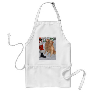 Golden Retriever Christmas Gifts Adult Apron