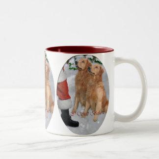 Golden Retriever Christmas Gifts Mugs