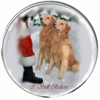Golden Retriever Christmas Gifts Ornament