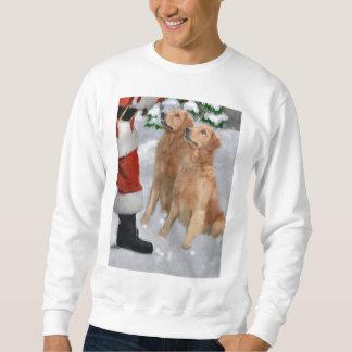 Golden Retriever Christmas Gifts Sweatshirt