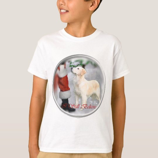 Golden Retriever Christmas Gifts T-Shirt