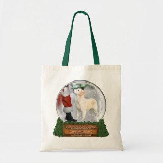 Golden Retriever Christmas Gifts Tote Bag
