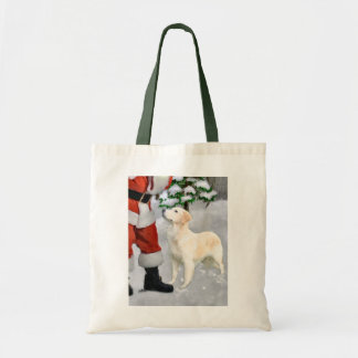 Golden Retriever Christmas Gifts Tote Bag