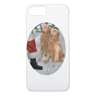 Golden Retriever Christmas iPhone 7 Case
