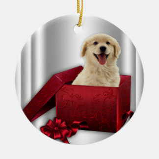 Golden Retriever Christmas Tree Ornaments