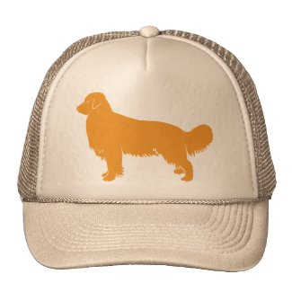 Golden Retriever Classic Profile Hats