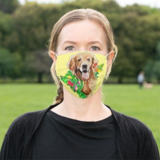 Golden Retriever Cloth Face Mask