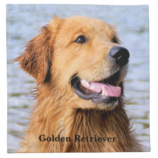 Golden Retriever Cloth Napkin
