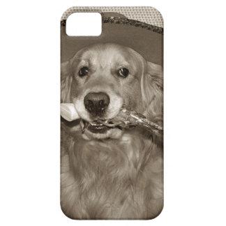 Golden Retriever Cowboy iPhone SE/5/5s Case