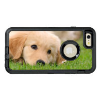 Golden Retriever Cute Dog Puppy Photo - Protect OtterBox Defender iPhone Case