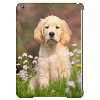 Golden Retriever Cute Goldie Puppy Protect Case iPad Air Cover