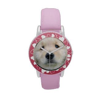Golden Retriever Cute Puppy Watches