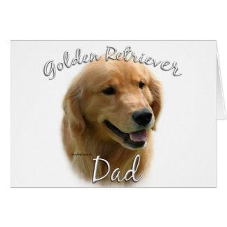 Golden Retriever Dad 2 Card