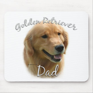 Golden Retriever Dad 2 Mouse Pad
