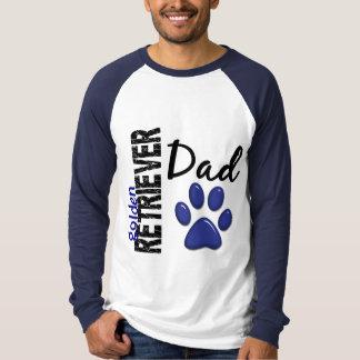 Golden Retriever Dad 2 T Shirt