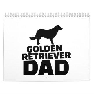 Golden Retriever Dad Calendar