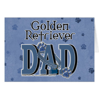 Golden Retriever DAD Card