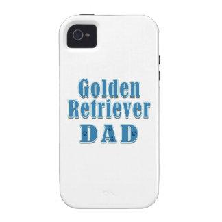 Golden Retriever Dad Case-Mate iPhone 4 Case