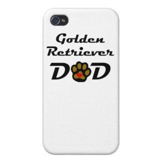 Golden Retriever Dad Cases For iPhone 4