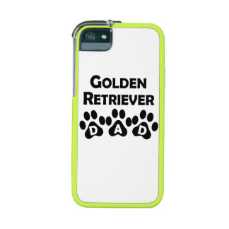 Golden Retriever Dad Cover For iPhone 5/5S