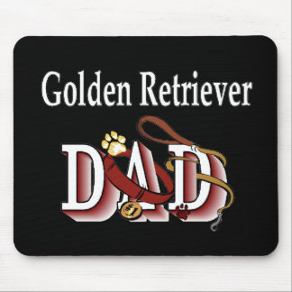 Golden Retriever Dad Gifts Mouse Pad