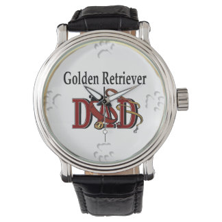 Golden Retriever Dad Gifts Watch