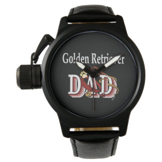 Golden Retriever Dad Gifts Wrist Watch