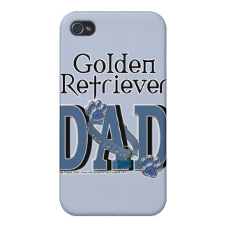 Golden Retriever DAD iPhone 4/4S Cover