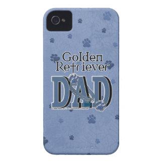 Golden Retriever DAD iPhone 4 Case