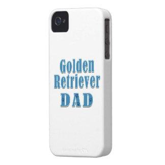 Golden Retriever Dad iPhone 4 Case-Mate Case