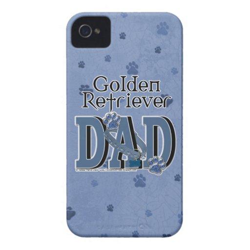 Golden Retriever DAD iPhone 4 Case-Mate Cases