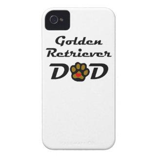Golden Retriever Dad iPhone 4 Cover
