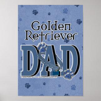 Golden Retriever DAD Print