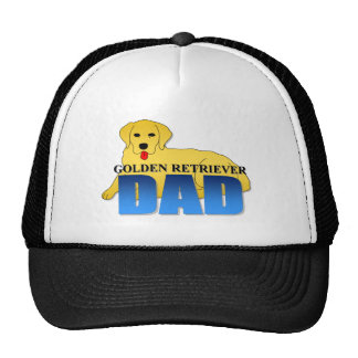 Golden Retriever Dad Trucker Hat