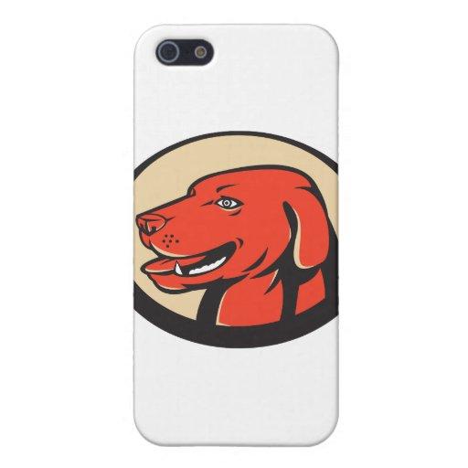 golden retriever de Labrador retro iPhone 5 Fundas